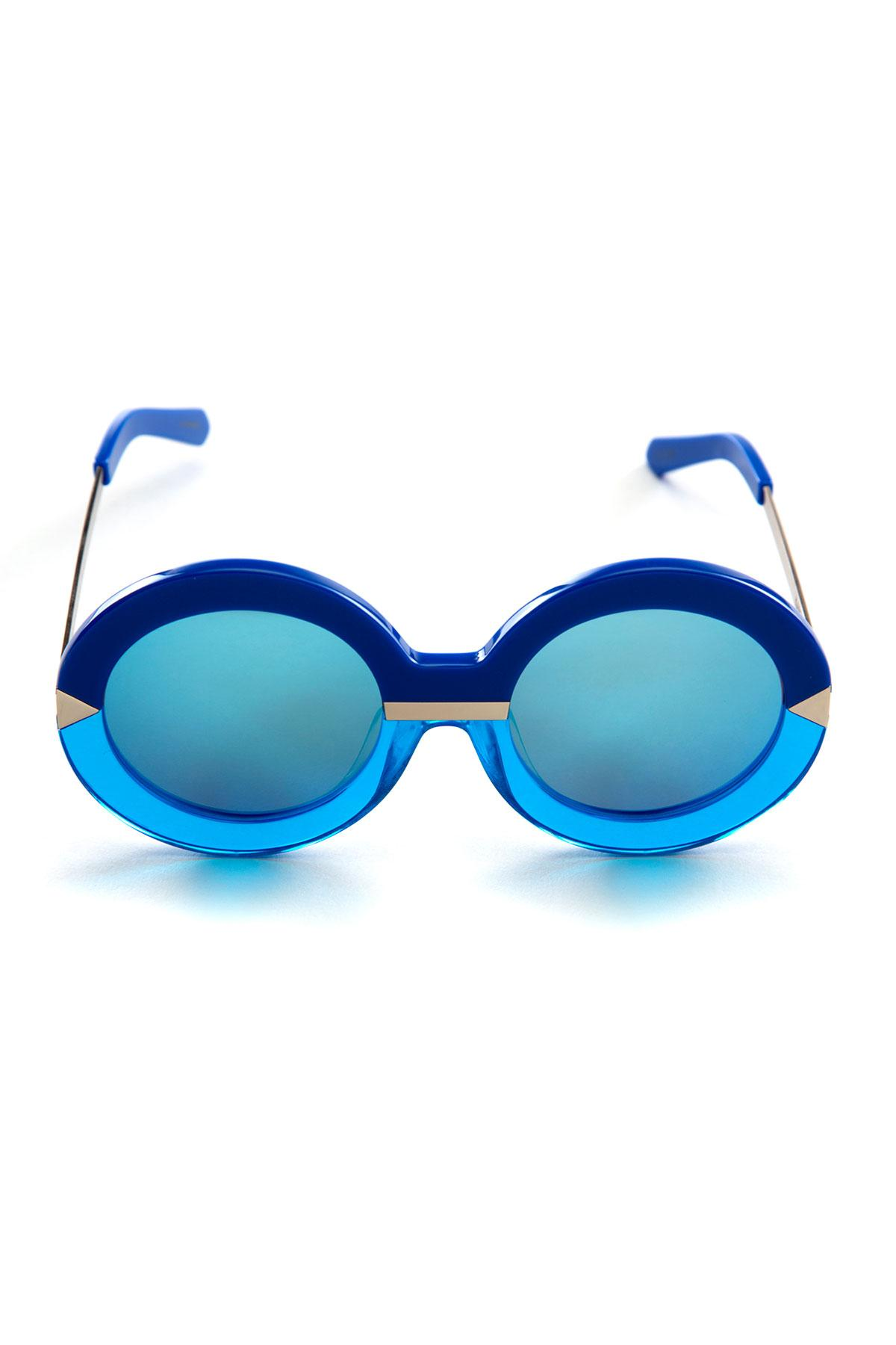 54e011273d Karen Walker sunglasses Hollywood Pool Sea Blue AND Crystal Aqua sunglasses  for rent