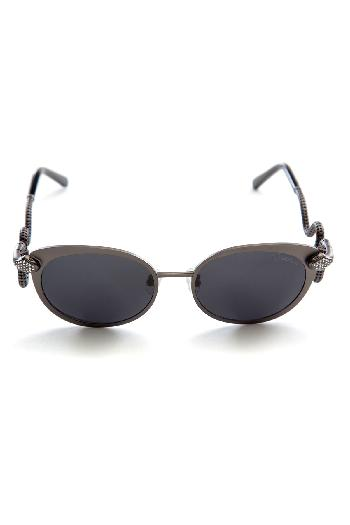 502da03fa765 Roberto Cavalli sunglasses Snake Cat Eye Palladium Grey sunglasses for rent
