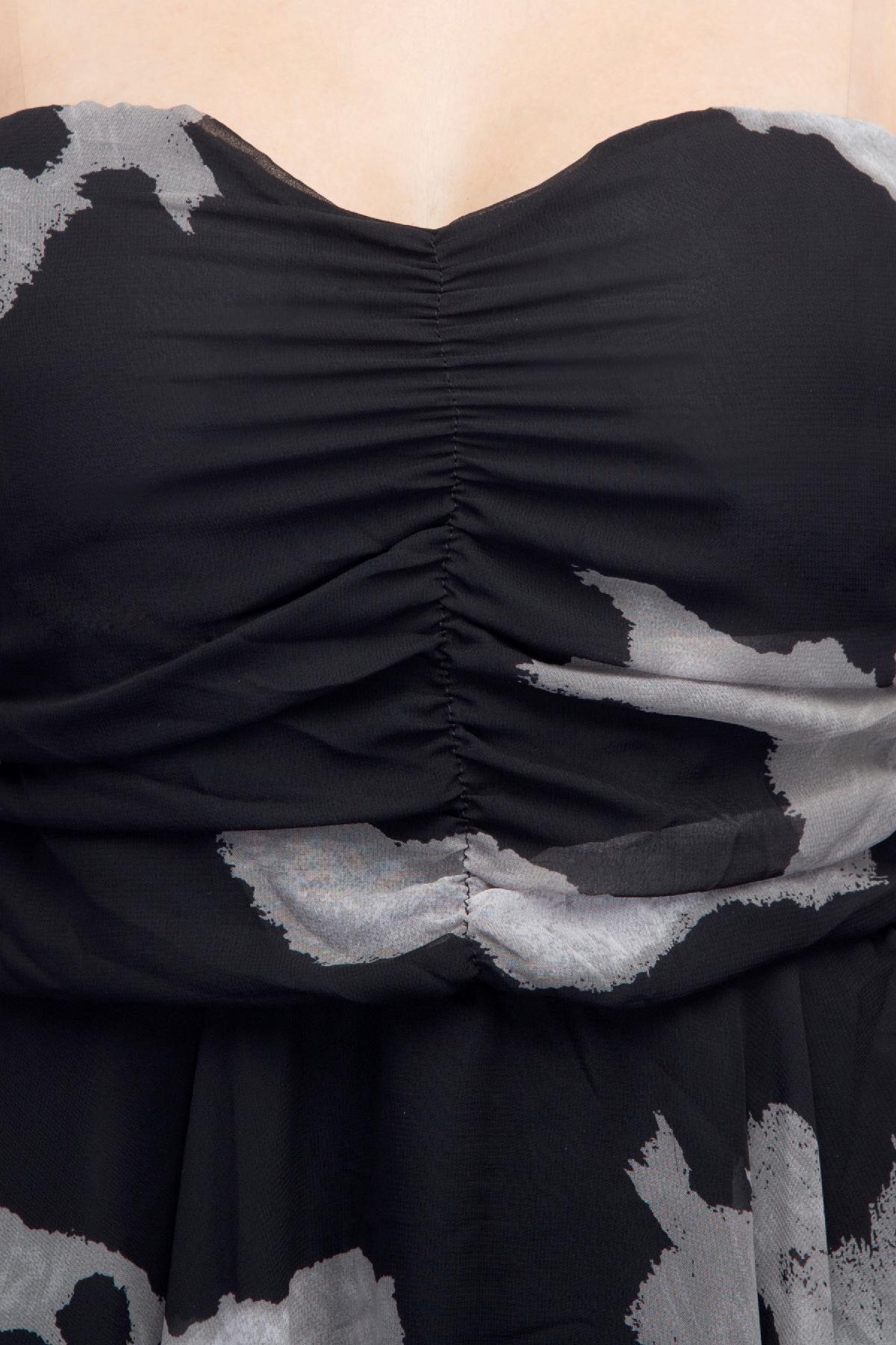 a7c1ecc3d5b ... RIB clothing Diva Tube Dress Black   White dress for rent